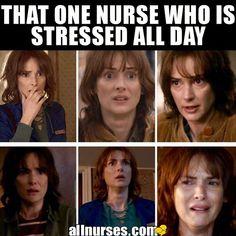 We all know at least one of those dont we? Tag THAT nurse below! Nursing School Humor, Icu Nursing, Nursing Jobs, Nursing Memes, Funny Nursing, Nursing Board, Rn Humor, Medical Humor, Pharmacy Humor