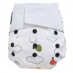 GroVia and Wee Gallery have teamed up to bring you new adorable cloth diaper prints! How cute is this shell in Up and Away? Available in Hook & Loop and Snap at FranklinGoose.com!