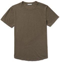 JOHN ELLIOTT Classic Curve Cotton-Jersey T-Shirt. #johnelliott #cloth #t-shirts