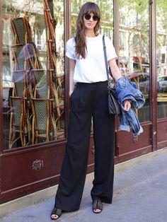 Minimalist Fashion - My Minimalist Living Daily Fashion, Love Fashion, Womens Fashion, Fashion Design, Paris Fashion, Spring Fashion, Fashion Pants, Fashion Outfits, Mode Chic
