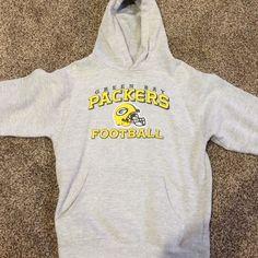 Youth girls Packer sweatshirt Youth girls Packer hooded sweatshirt. Good condition. No stains or holes. Reebok Shirts & Tops Sweatshirts & Hoodies