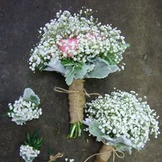 Like the small baby's breath bouquet!