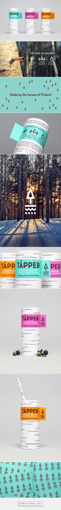 Tapped Birch Water by Horse via BP&O curated by Packaging Diva PD. Tapped…