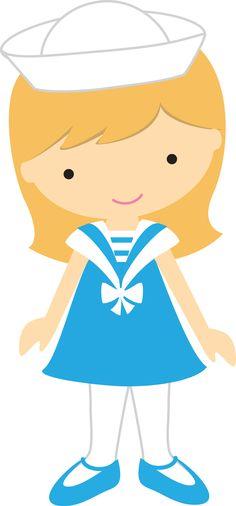 Clip Art, Nautical Party, Kids Scrapbook, Cute Clipart, Ocean Themes, Cute Images, Digi Stamps, Paper Piecing, Cute Cartoon