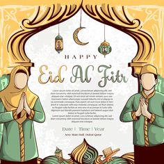Eid Al Fitr Background With Hand Drawn Of Muslim People And Islamic Ramadan Ornament On White Grunge Background. Ramadan Background, Festival Background, Islamic People, Eid Mubarak Wallpaper, Happy Islamic New Year, Happy Muharram, Iftar Party, Eid Festival, Ramadan Day
