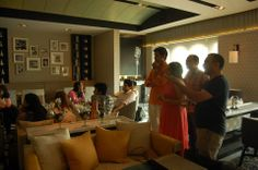 Glimpses from the brunch hosted by Miss Malini Image Courtesy : Miss Malini