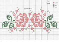 Gallery.ru / Фото #1 - + - Hela76 Cross Stitch Letters, Cross Stitch Rose, Cross Stitch Borders, Cross Stitch Baby, Cross Stitch Flowers, Cross Stitch Designs, Cat Cross Stitches, Cross Stitching, Cross Stitch Embroidery