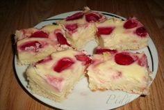Obrázek z Recept - Tvarohovo jahodový koláč Sweet Recipes, Ham, Cheesecake, Food And Drink, Pudding, Cooking, Cuisine, Kitchen, Cheese Cakes