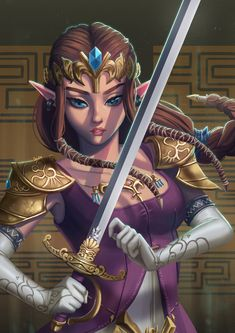 seulin: Princess Zelda for Arttras discord Secret Santa Ben Drowned, Fantasy Anime, Princesa Zelda, Zelda Twilight Princess, Legend Of Zelda Breath, Zelda Legend, Pokemon, Fanart, Nintendo Characters