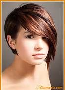 short pixie with long bangs - Bing Images