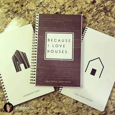 Repost from @allisonbarto : Love these notebooks from All Things Real Estate. Homebuyer's Guide, Real Estate Agent Notes and Open House Registry. All the important info at your fingertips. #westchesterrealtor