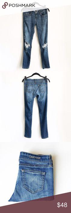 """SALE!🎉 LF Carmar Denim Ripped  Size 27 LF Carmar  Denim  Ripped Size 27. PERFECT condition! Inseam: 29"""" Carmar Jeans Boyfriend"""