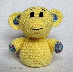 Ravelry: Poncho the Monkey pattern by Hooked on Fauna