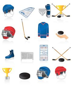 Ice hockey clip art 17 high resolution png Ice hockey by 41Bus
