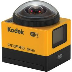 Kodak PIXPRO SP360 16MP 360° HD  Action Camera,