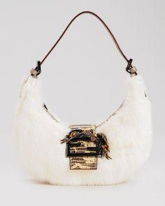 60f0aba5ed Fendi LNIB Mink Fur  amp  Lizard Leather Handbag