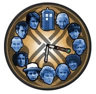 Doctor Who clock. Possibility of making this soon