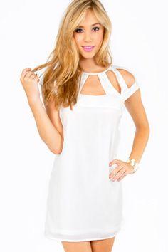 Strappy white dress  http://WhiteNYESD.com
