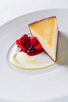 Crostata con ricotta - the best cheesecake ever! :) CottoCrudo restaurant at Four Seasons Hotel Prague
