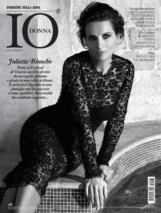 Juliette Binoche - Io Donna Magazine Cover [Italy] (29 August 2015)