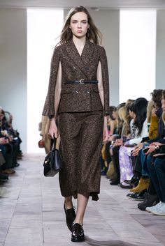 tweed cape suit.. seriously the most amazing thing ever #michailkors