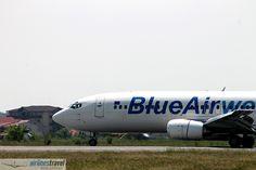 YR-BAL Blue Air - Boeing 737-484 Blue Air, Airline Travel, Aircraft, Aviation, Airplanes, Airplane, Plane