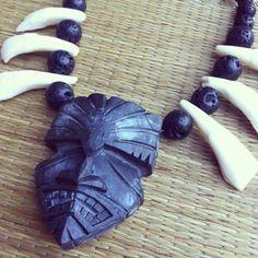 Original Doug Horne Design Tiki Pendant Buffalo by FancyFruits