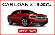 Interest rates of Car Loan is 9.35% The Payback Period is from 12 months to 84 months. Loan Amount can be up to 100% of Ex-Showroom Price. You can calculate the EMI for that you can also go through EMI Calculator.  http://www.finheal.com/car-loan