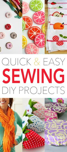 Quick and Easy Sewing DIY Projects - The Cottage Market