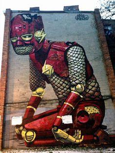 Pixel Pancho in Baltimore (by LoisInWonderland)