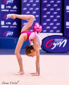 Ambre Razat (France)#rhythmicgymnastics #rhythmic_girls