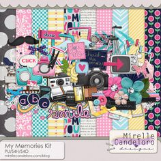 My Memories Kit :: Full & Mini Kits :: Memory Scraps