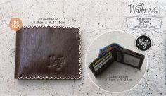 New: #nvgtrWallet For Men, Exclusive Wood - Brown Leather. IDR 195K, Order SMS/WhatsApp: 08562101653.