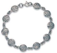 Heather Needham, Silver Celtic Knot Bracelet: Jewelry: Amazon.com