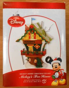 Dept.56 mickey's merry christmas village goofy's gas station ...