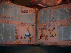 Alice in Wonderland Scrapbook Page