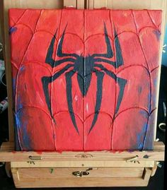 Spiderman canvas painting - Visit now to grab yourself a super hero shirt today at 40% off!
