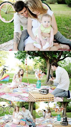 family picnic photo shoot ! LOVE