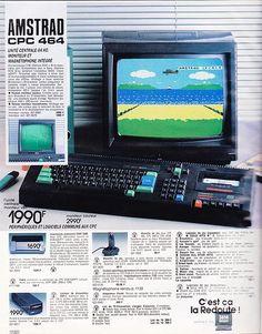 Amstrad CPC 464 Vintage Video Games, Retro Video Games, Retro Videos, Retro Games, Office Gadgets, Geek Gadgets, Retro Typewriter, Pub Vintage, 8 Bits
