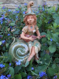 Garden Sculpture, Disney Characters, Fictional Characters, Disney Princess, Outdoor Decor, Art, Craft Art, Kunst, Gcse Art