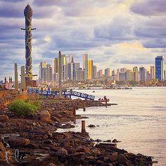 Recife skyline.