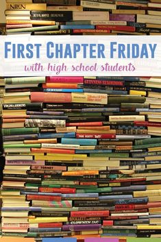 Have you tried First Chapter Friday with your high school students? Students love being read to by a teacher, and this approach allows them to experience different genres, authors, narrators, and more. #HighSchoolELA #FirstChapterFriday