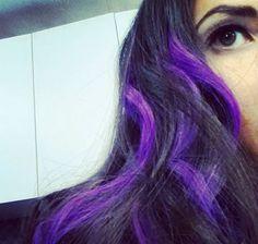 Olivia Munn as Psylocke in X-Men Apocalypse with Purple Hair.