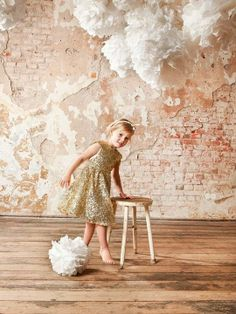 Circus mag: Xmas Gift Guide 2013 golden dress: I love gorgeous, headband: Macarons