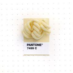 Pantone 7499 color match. My comfort food and guilty pleasure: Ramen noodles!
