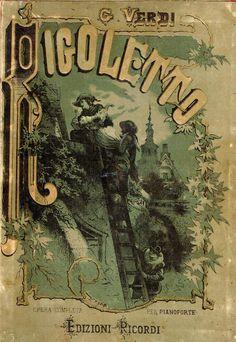 Spartito-Rigoletto Giuseppe Verdi  #TuscanyAgriturismoGiratola