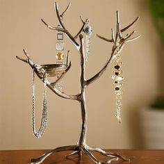 Jewelry Tree Bird Nest Branch Jewelry Holder Stand Display Metal SPI 33581 for sale online Jewelry Holder Stand, Jewelry Tree Stand, Wood Jewelry Display, Jewelry Display Stands, Necklace Display, Earring Display, Wooden Jewelry, Jewellery Storage, Jewellery Display