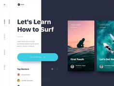 Exploration | Website Learn to Surfing
