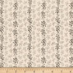 Kaufman Sevenberry Petite Garden Flower Stripe Vintage from @fabricdotcom  From the world renowned Sevenberry for Robert Kaufman, this cotton print fabric is made in Japan and features beautiful floral stripes on high quality cotton. Perfect for quilting, apparel and home decor accents. Colors include peach and shades of brown.