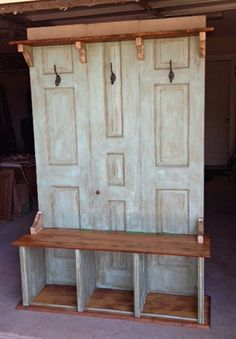 Awesome Hall Tree   Coat Rack   Bench (Custom Made For You)